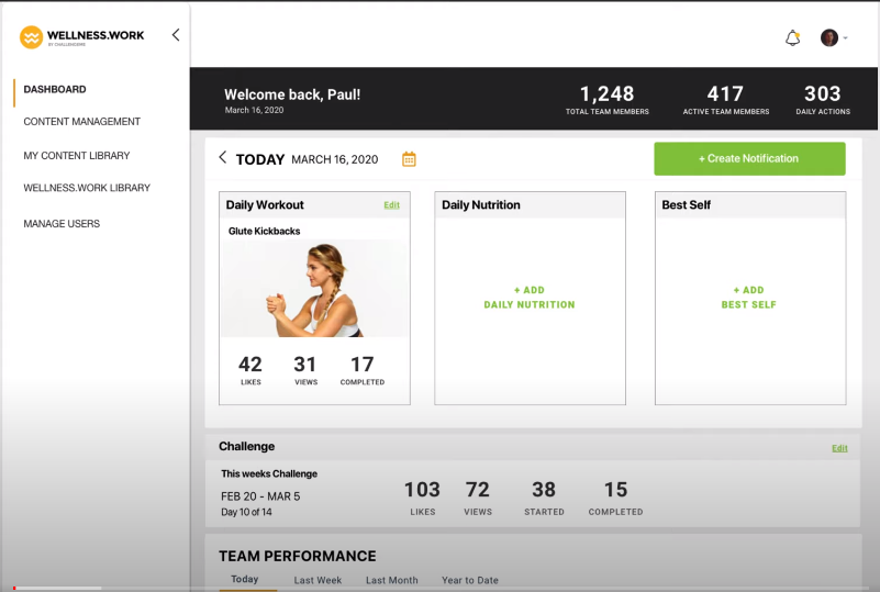 schedule a demo for our corporate wellness sofware